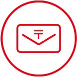 郵便もメール便も対応可